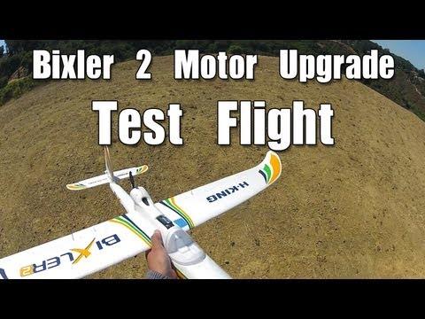 Bixler 2 Motor Upgrade: TEST FLIGHT - UCEIB8GWz-ToKXqrm69EwU9Q