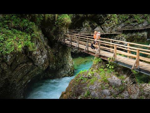Vintgar — самое красивое ущелье Словении!