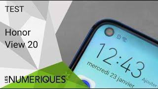 Vidéo-Test : Test du Honor View 20 : un smartphone troué et doué