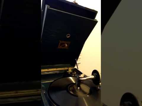 George Gershwin  plays Maybe on the piano..played on a late HMV 101