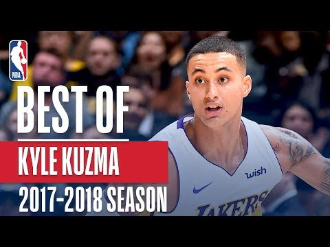 Kyle Kuzma's Rookie Season Highlight Reel