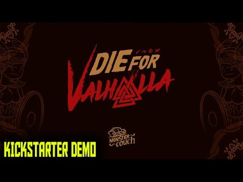 Die for Valhalla - Kickstarter Demo - Monster Couch - 2017