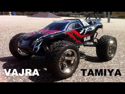 Tamiya Vajra 4WD 1/10 Stadium Truck (Part 1): On Road Test Run - UCHcR-O2hVrKGKRYvN1KUjOg