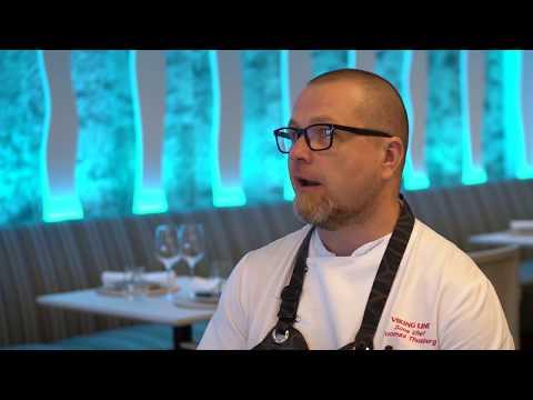 Ruotsin kokkimaajoukkueen Vierailevat tähdet -menu