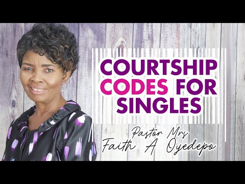 Courtship Codes for Singles
