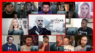 The Witcher - Official Teaser Reaction Mashup