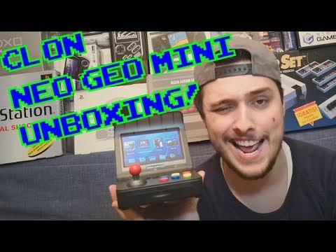 CLON NEO GEO MINI!! || UNBOXING