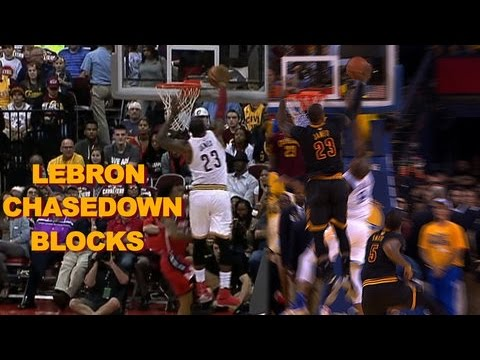 Then vs Now: LeBron Breaks Out Game 7 Block for Preseason