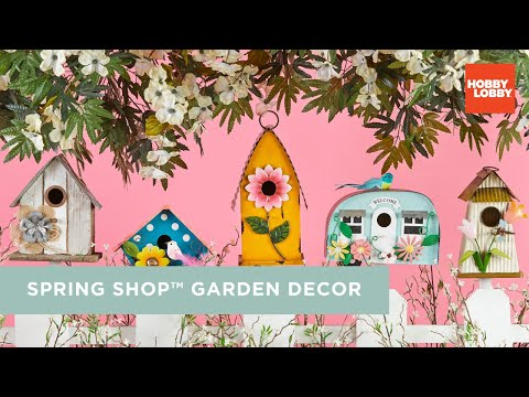 The Spring Shop® Garden Decor | Hobby Lobby®