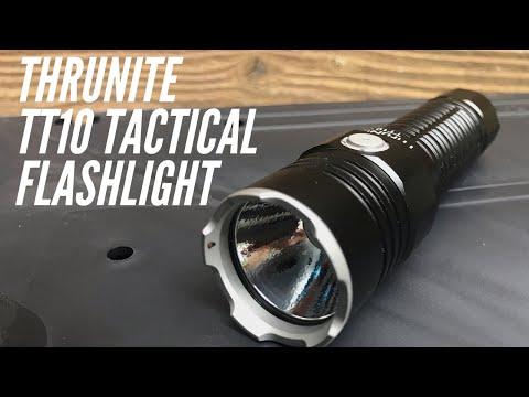 Thrunite TT10 Tactical Flashlight: The MOST Balanced Thrunite I've Ever Used