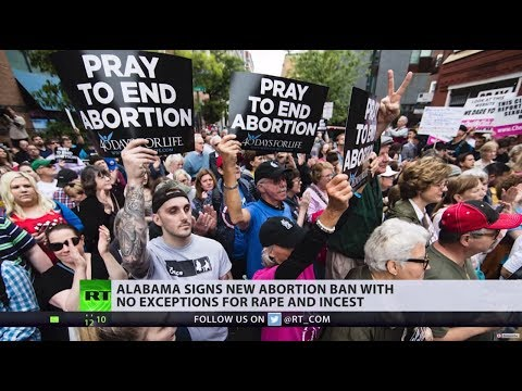 Alabama Senate passes bill criminalizing abortion, with no exceptions for rape & incest