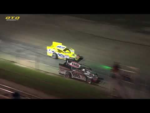 Fulton Speedway   Outlaw 200 Modified Feature Highlights   10/2/21 - dirt track racing video image