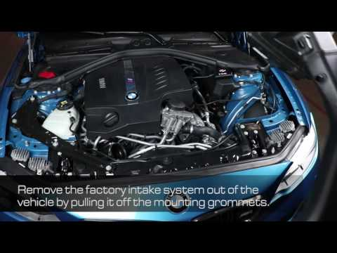 How To Install aFe Power 2016-2017 BMW M2 (F87) L6-3.0L (t) N55 Momentum Intake System 52-76311