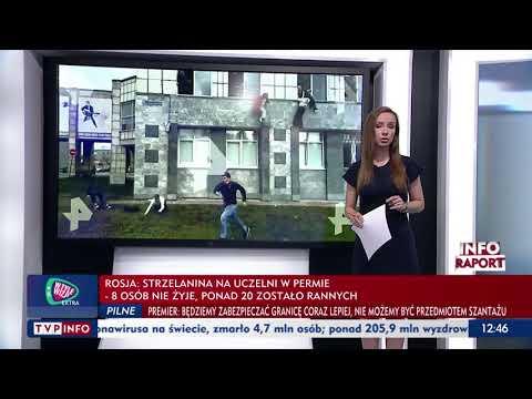 """Strzelanina na uniwersytecie w Rosji, są ofiary śmiertelne. """"Studenci skakali z okien"""""""