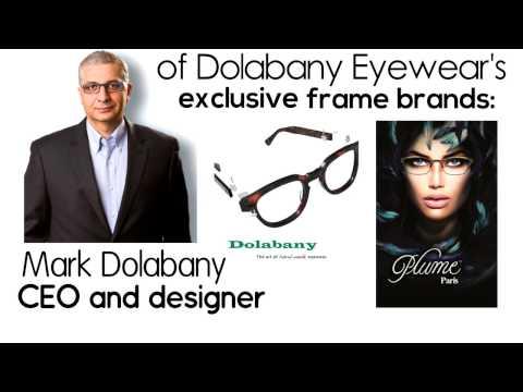 Dolabany Eyewear, An independent frame company. www.DolabanyEyewear.com