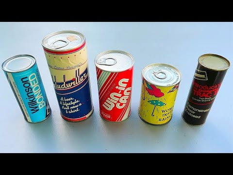 5 Strange Products in a Can!?