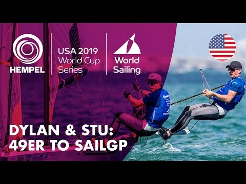 Dylan & Stu: 49er to SailGP | Hempel World Cup Series Miami 2019