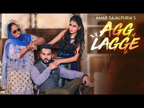 AGG LAGGE LYRICS - Amar Sajaalpuria   Punjabi Song 2018