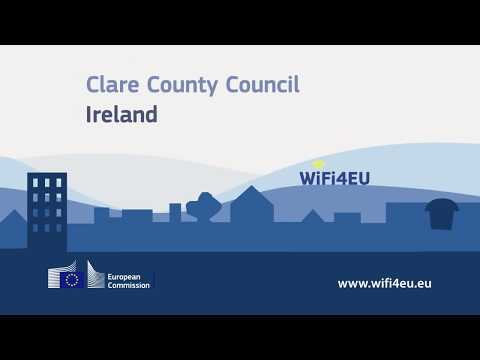 WiFi4EU stories: Ireland - interview with Clare County Council photo