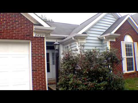"""Charlotte  Rental Home""""Move in Video for 8427 Galena by """"Charlotte  Property  Management"""