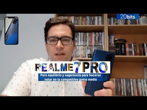 Realme 7 Pro: puro equilibrio y sugerencia para hacerse notar en la competitiva gama media