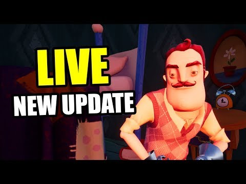 HELLO NEIGHBOR NEW UPDATE 1.1.8 [🔴LIVE]