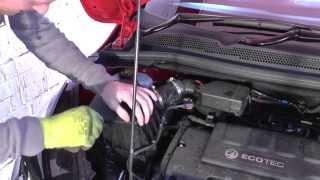 Smontaggio filtro aria Opel CORSA E