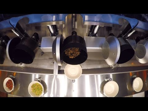 Fully automated robotic kitchen can prepare meals in 3 minutes