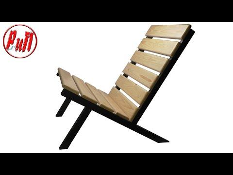 Простое кресло для дачи. Homemade chair. photo