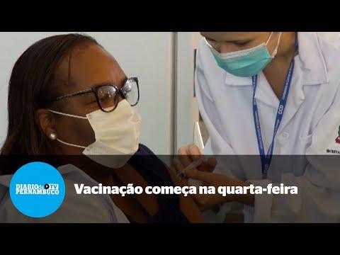 Vacinação é antecipada e começa nesta segunda-feira em todo país