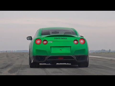 1238HP BulletProof Alpha 12 Nissan GT-R – REVS & Top Speed Run!