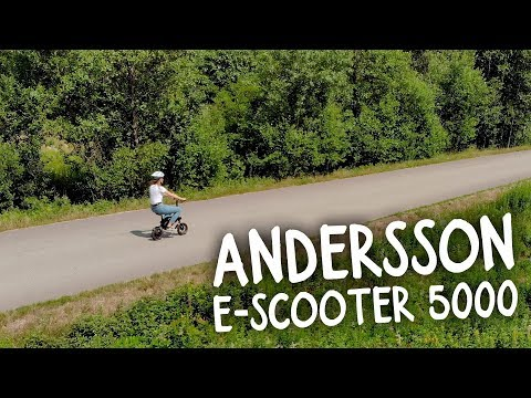 NetOnNet: Andersson E-Scooter 5000