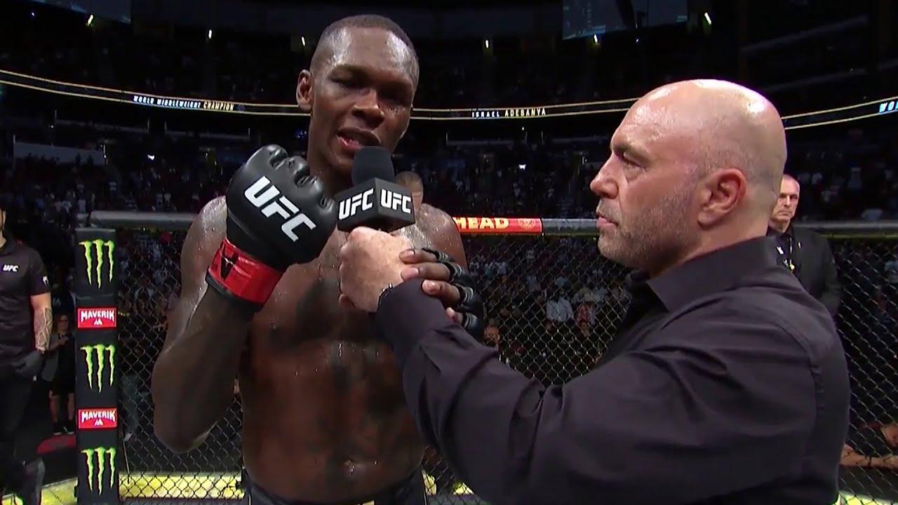 UFC 263: Israel Adesanya Octagon Interview