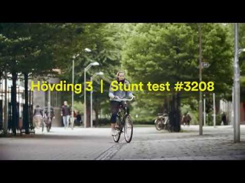 Hövding 3 stunt test #3208