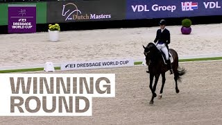 Andersen finishes final Dressage leg with a win in 's-Hertogenbosch | FEI Dressage World Cup™