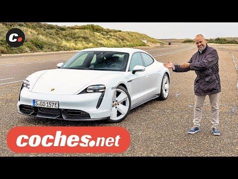 Porsche Taycan Turbo y Turbo S Eléctricos | Primera prueba / Test / Review en español | coches.net