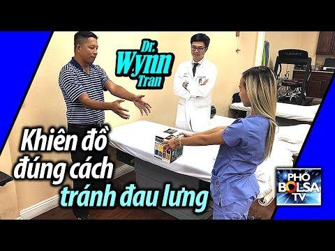 Dr. Wynn: Khiên đồ sao cho đúng cách, tránh làm đau lưng?