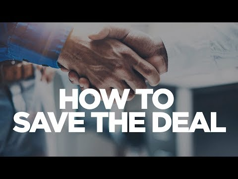 How to Save the Deal - Grant Cardone photo