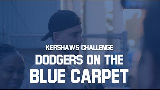 Dodgers Walk the Blue Carpet for Ping Pong Tournament | Kershaw's Challenge 2019