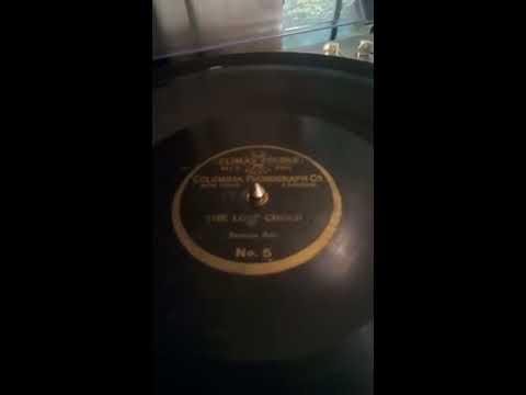 Rare Climax recording of  Mr. Franklin  (Emilio de Gogorza) The lost chord ..1901