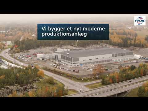 Vi bygger en ny effektiv og bæredygtig fabrik