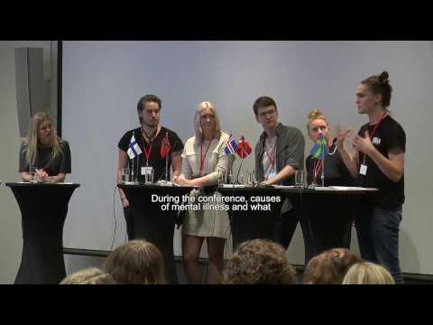 Unga in i Norden - psykisk hälsa, arbete och utbildning (Sammanfattningsfilm, engelsk text)