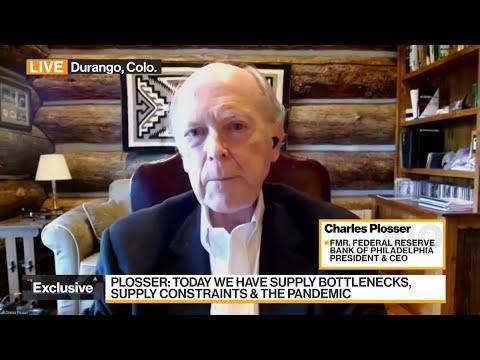 Former Philadelphia Fed President Plosser on Economy, Policy