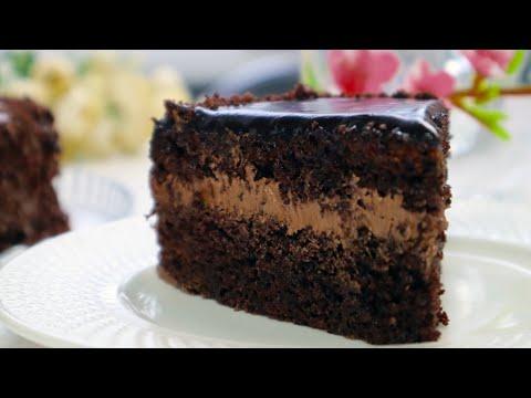 Божественно ВКУСНЫЙ Шоколадный  Торт/Очень Простой  Быстрый вкусный Трюфельный Сметанник