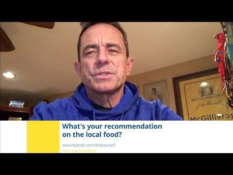 Ask Dave McGillivray: What's your favorite local restaurant?