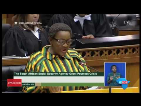 Dlamini answers questions in Parliament