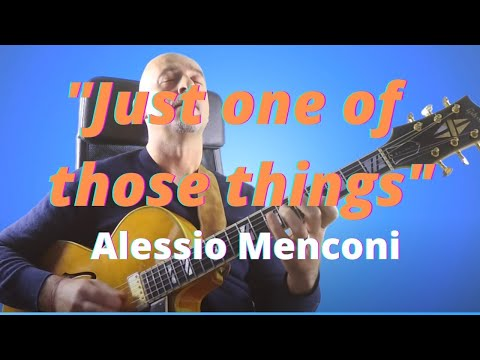 Just one of those things - Alessio Menconi