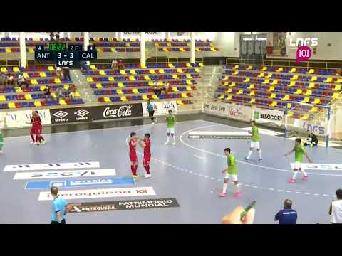 BeSoccer UMA Antequera 6-3 Visit Calvià Hidrobal Jornada 4 Segunda División Temp 21/22