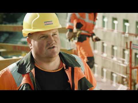 Pracownicy budowlani STRABAG – Cieśla