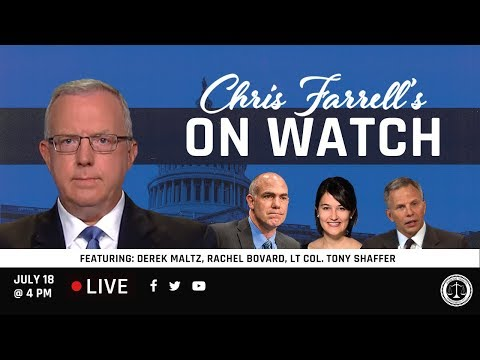 """Chris Farrell's """"On Watch"""": America's National Security & The Southern Border"""